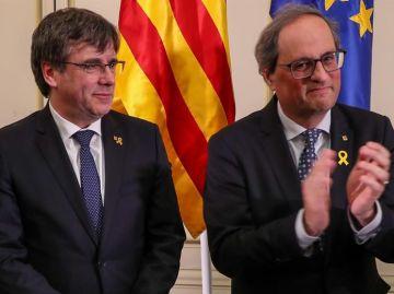 Puigdemont y Torra