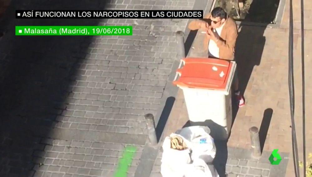 Los narcopisos, cada vez más cerca del centro de las ciudades