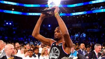Kevin Durant, MVP del All Star de la NBA de 2019