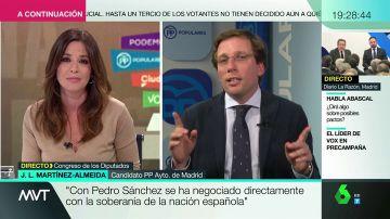 """Mamen Mendizábal deja en evidencia a Martínez-Almeida: """"Es importante, de cara a las elecciones, decir la verdad"""""""