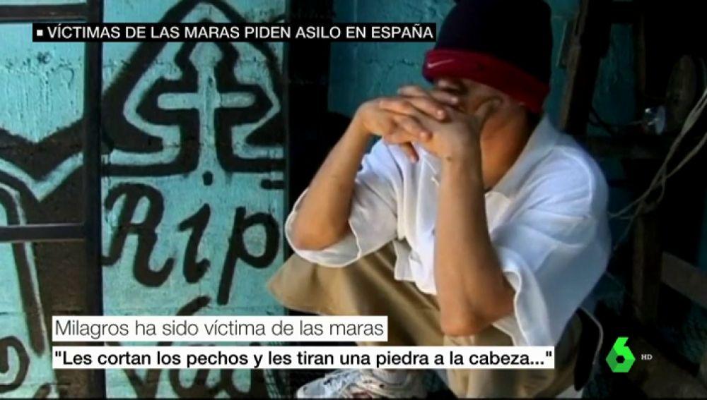Las víctimas de las Maras piden asilo en España