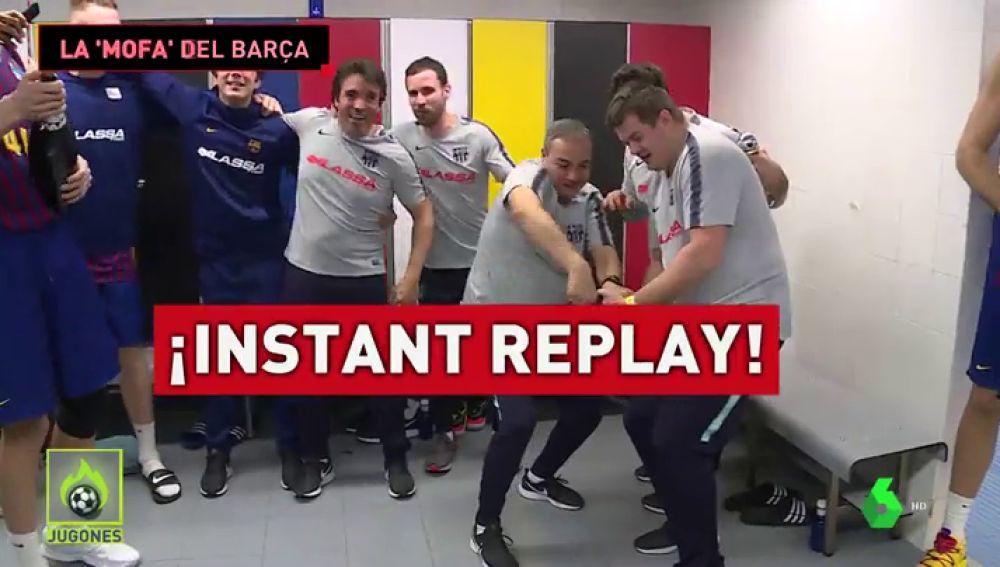 """""""Ha sido el árbitro"""": así vivió el vestuario del Barça el polémico final contra el Real Madrid"""