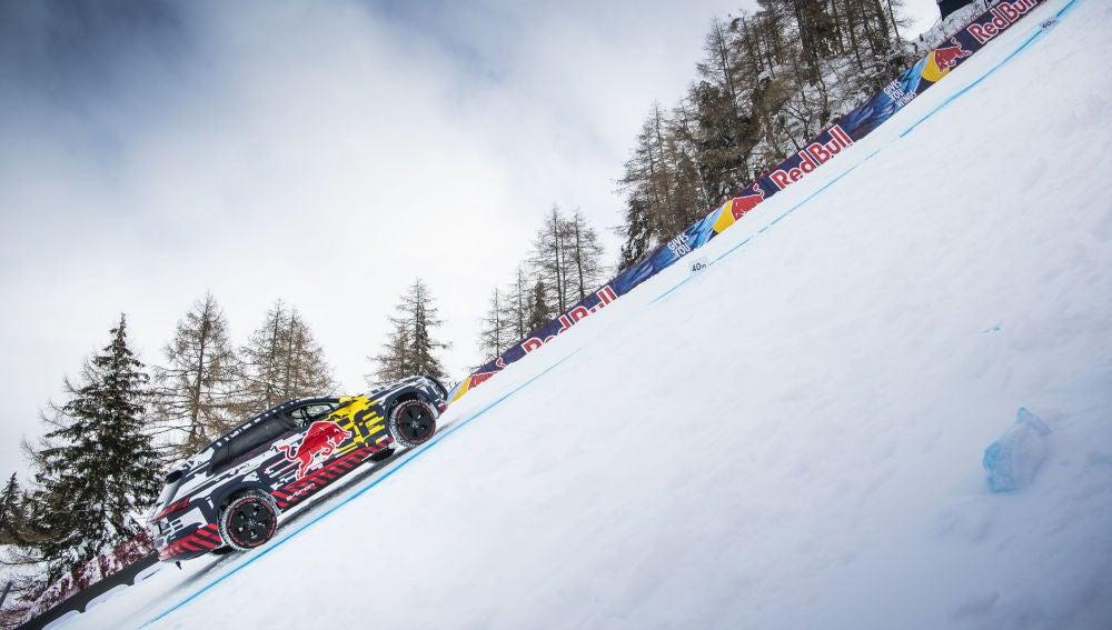 "Audi e-tron extreme conquistando la legendaria ""Streif"""