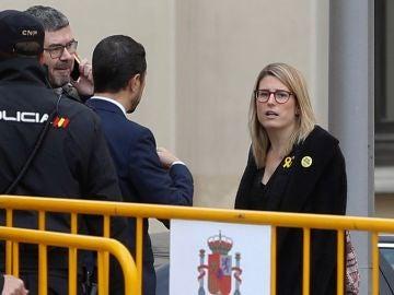 Elsa Artadi accediendo al juicio del 'procés'