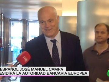 El español José Manuel Campa presidirá la Autoridad Bancaria Europea