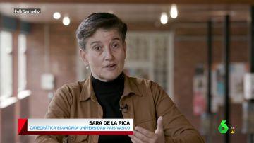 """Sara de la Rica, sobre el fraude de los 'riders': """"La realidad va por delante de la regulación"""""""
