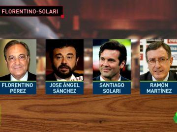 """Solari a Florentino: """"Voy a morir con mis ideas"""""""