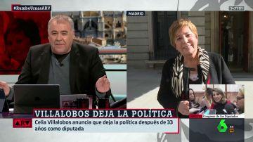 Antonio García Ferreras y Celia Villalobos