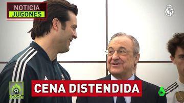"""Las claves de la reunión entre Solari y Florentino Pérez: """"Voy a morir con mis ideas"""""""