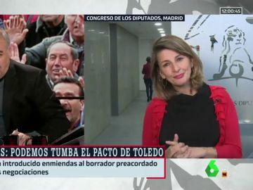 Antonio García Ferreras y Yolanda Díaz