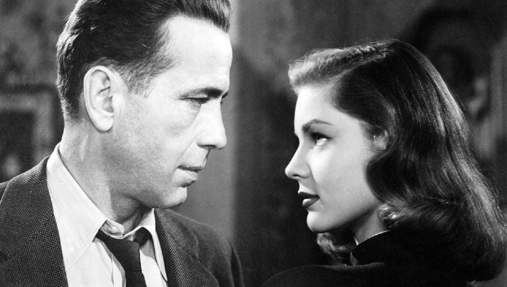Humphrey Bogart y Lauren Bacall