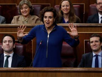 La portavoz del Grupo Parlamentario Popular en el Congreso, Dolors Montserrat