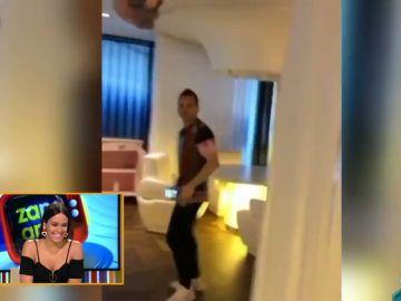 Así fue el tremendo susto de Cristina Pedroche a Dabiz Muñoz mientras grababa un vídeo