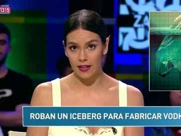 """""""Roban un iceberg para fabricar Vodka"""" y otras noticias surrealistas del 'Zapcheck' de Cristina Pedroche"""