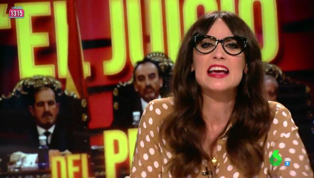 """El enfado de Ana Morgade con Piqué tras pedir más cámaras en el juicio del 'procés': """"Mira, te moñeo. Si nos levantaron el programa"""""""