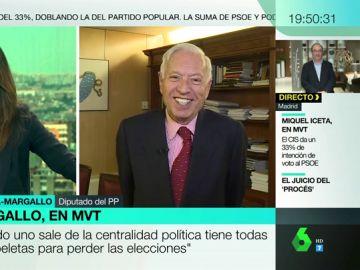 """García-Margallo asegura que ni Vox ni Ciudadanos le han """"tirado el lazo"""": """"No es cuestión de entrar en relaciones adulterinas todavía"""""""