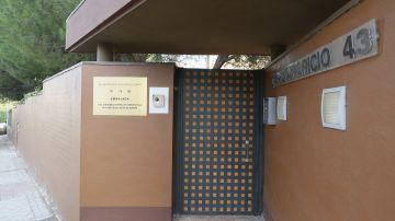 Vista de la embajada de Corea del Norte en Madrid