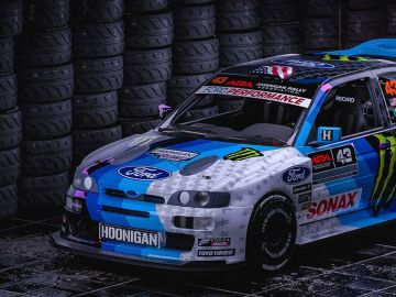 Ken Block estrena su nuevo Ford Escort RS Cosworth