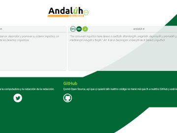 Traductor castellano-andaluz