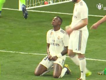 Vinicius, el mejor pero sin gol