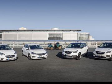 Gama Opel aniversario