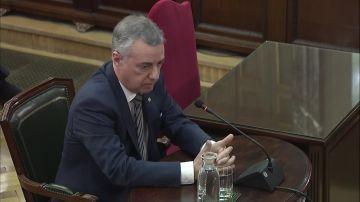 Íñigo Urkullu en el juicio del 'procés'
