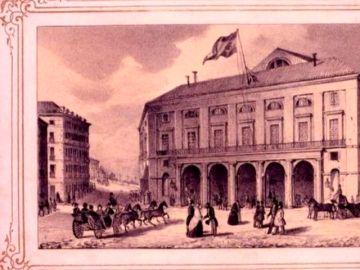 El pasado más político del Teatro Real, usado como Congreso de los Diputados en el siglo XIX