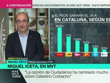 """Miquel Iceta aventura que habrá elecciones en Cataluña y que será en otoño: """"El Govern está esperando a conocer la sentencia del 'procés'"""""""