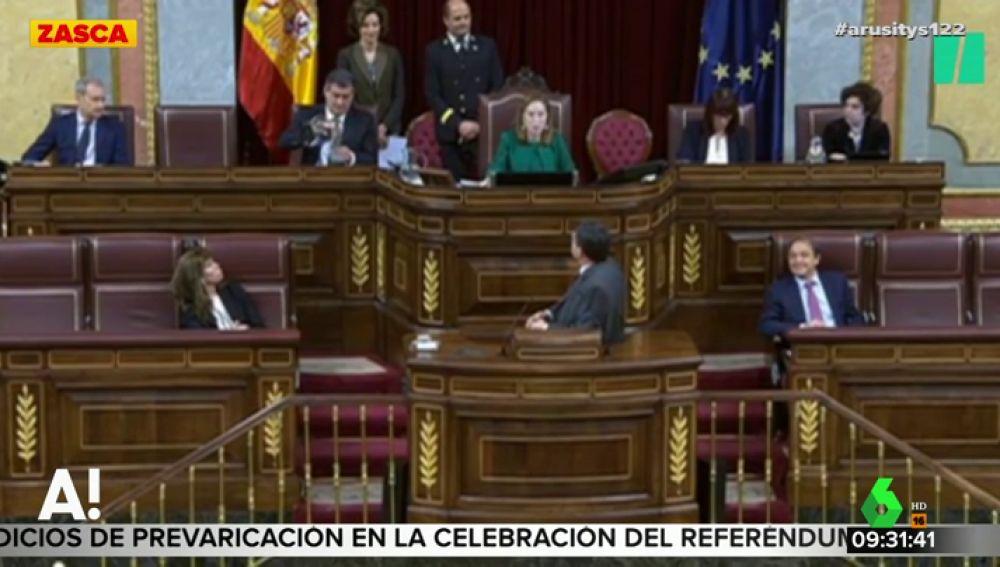 """Cruce de 'zascas' entre Ana Pastor y Aitor Esteban en el Congreso: """"Normalmente no me confundo"""""""