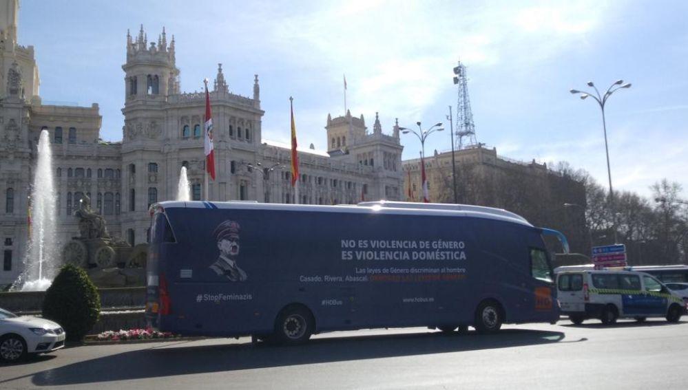 Nuevo autobús Hazte Oír