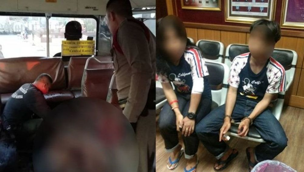 Un joven mata a puñaladas a otro por no cederle el asiento en el bus