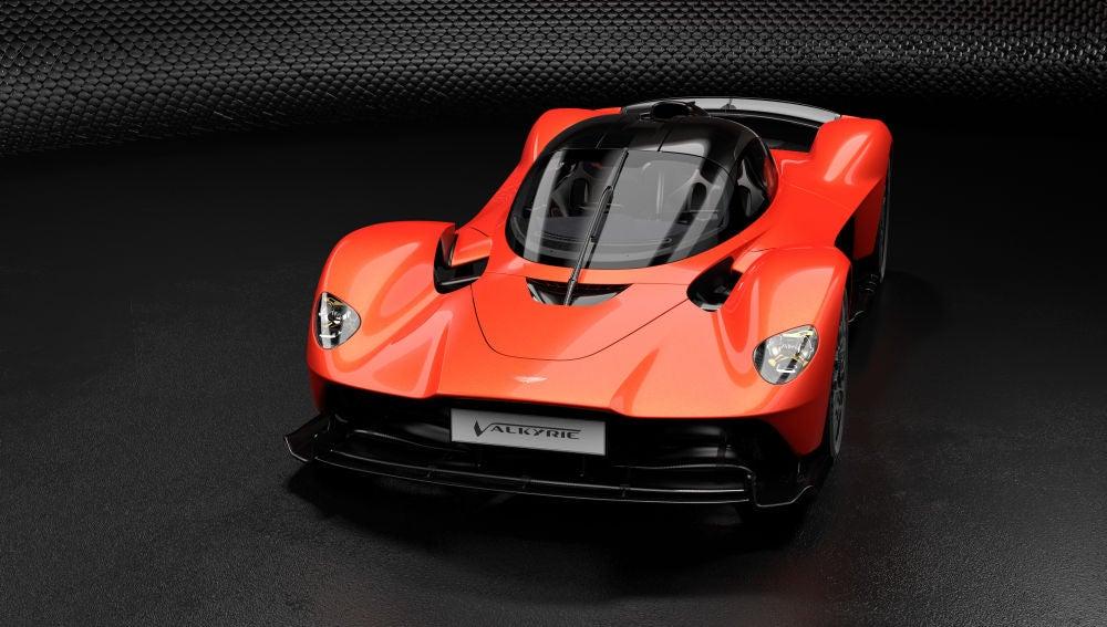 El Aston Martin Valkyrie anuncia cifras de Fórmula 1