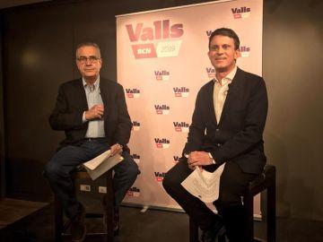 Celestino Corbacho con Manuel Valls