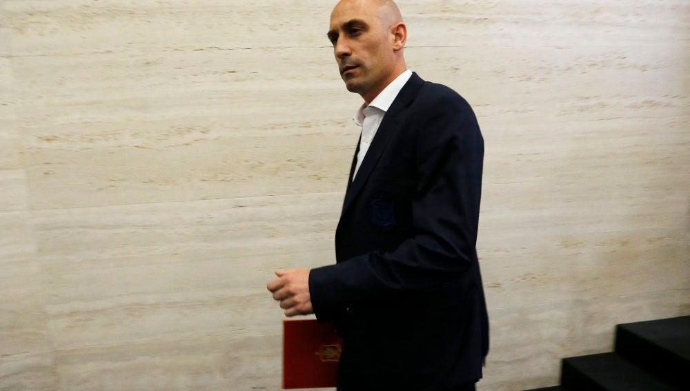 El presidente de la Federación, Luis Rubiales