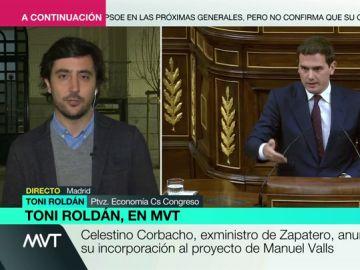 Toni Roldán en Más Vale Tarde
