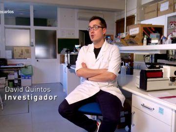 David Quintos, tiene 37 años y es científico autónomo