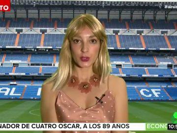 """Leonor Lavado imita a Alba Carrillo para hablar de su relación con Courtois: """"No estoy buscando pantalla"""""""