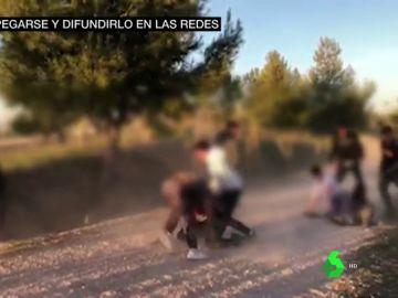 Agresión entre menores en Madrid