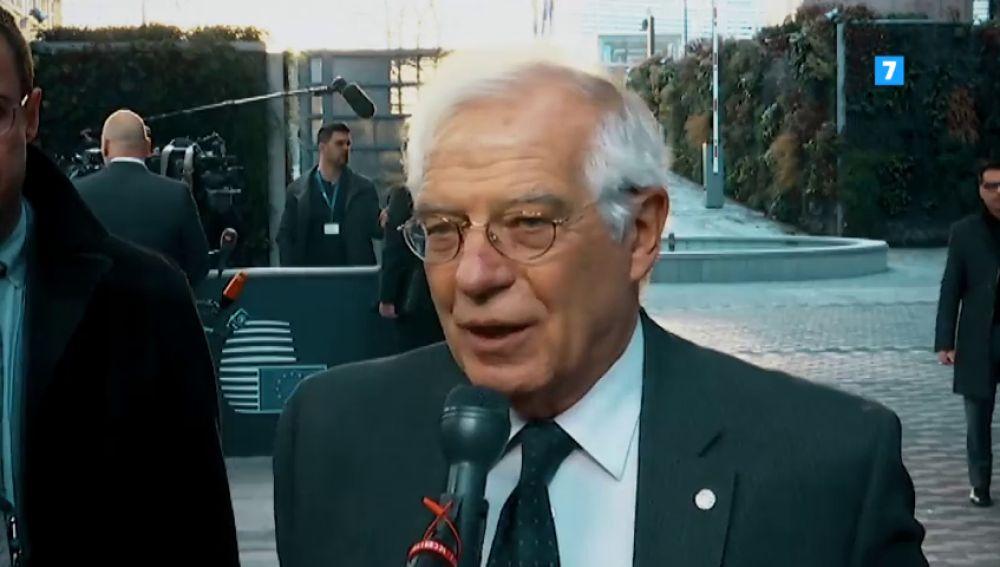 Ana Pastor entrevista a Josep Borrell este domingo en El Objetivo