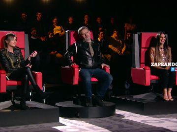 Anna Simon, Miki Nadal y Cristina Pedroche presentan 'Chisteando'