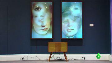 Retrato hecho por ordenador en una subasta de arte