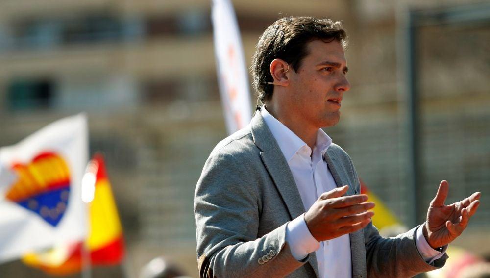 El presidente de Ciudadanos (Cs), Albert Rivera