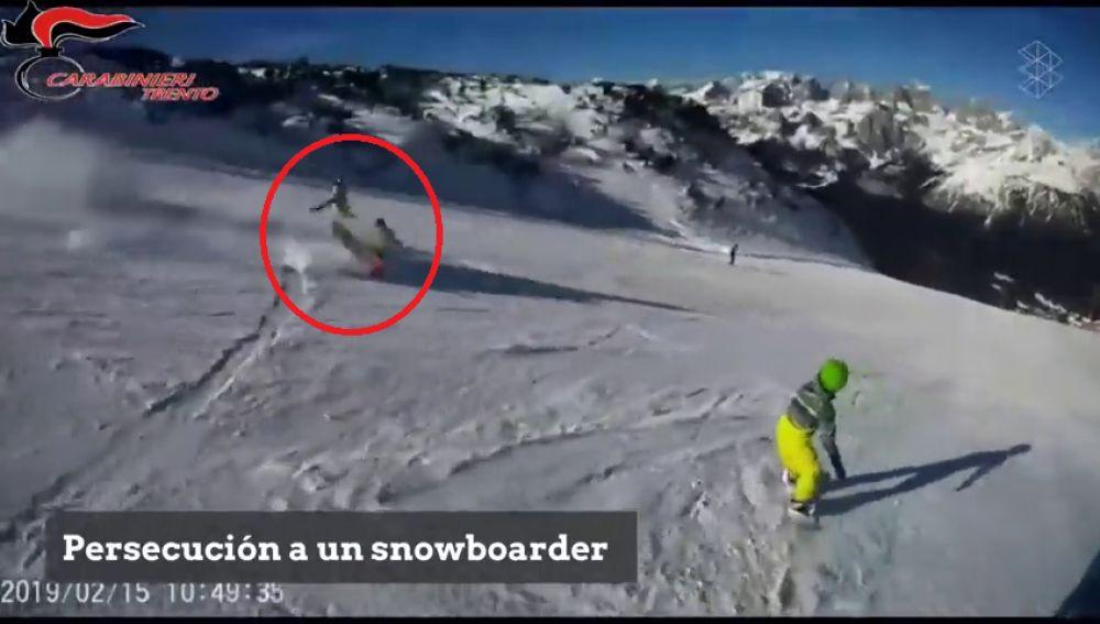 Atropellan a un snowboarder