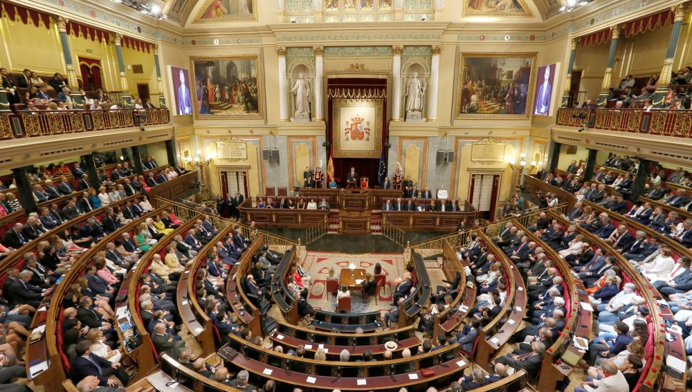 Hemiciclo del Congreso de los Diputados