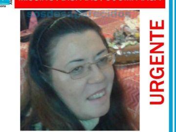 Imagen de la mujer de 49 años desaparecida en Sevilla