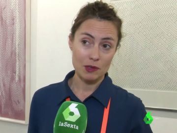 Elena Pérez, comunicadora de Ángels Barcelona