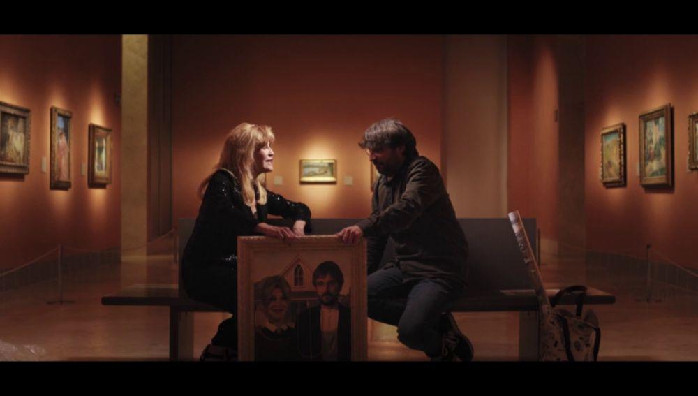 El suspiro (¿de alivio?) de Tita Cervera tras acabar la entrevista de Jordi Évole en Salvados