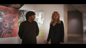 """Tita Cervera confiesa a Jordi Évole que habla con sus cuadros: """"Cada uno tiene su humor, tiene alma"""""""