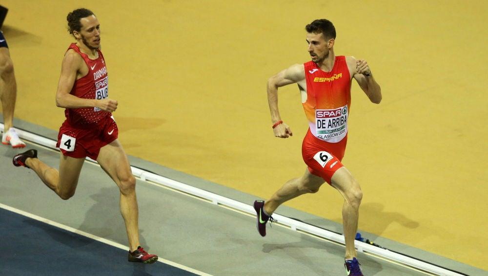 Álvaro de Arriba en los campeonatos de Europa de atletismo