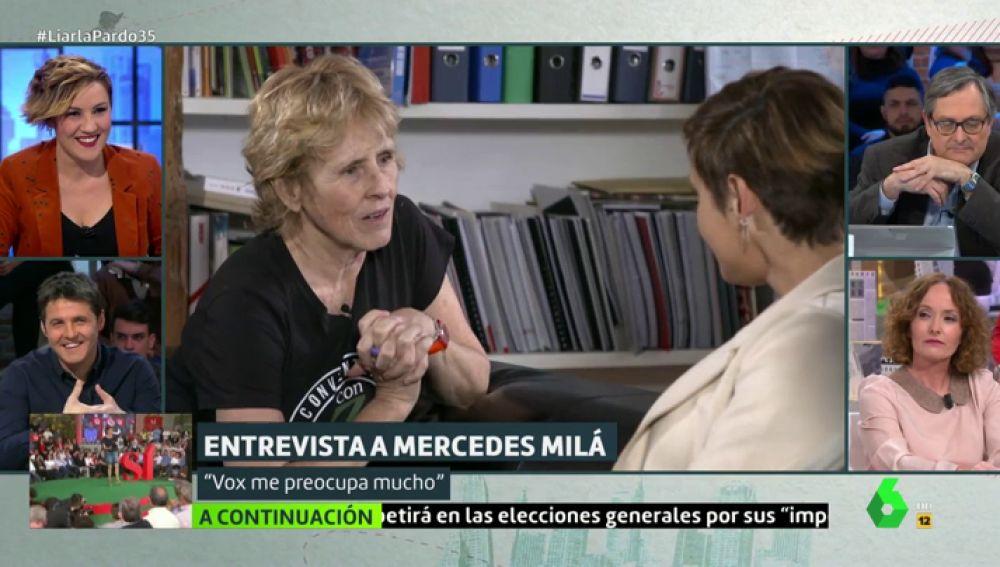 """Merdecer Milá: """"Santiago Abascal es un tipo estupendo, pero no puedo creer lo que va en el programa de Vox"""""""